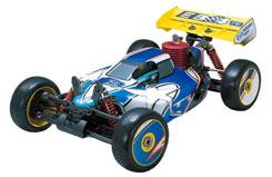 T.Tiger 1/8 Blue EB4 S3 Nitro Buggy - tt6231f112