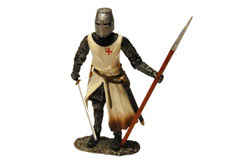 Knights Templar Warrior 1/18 - un28901