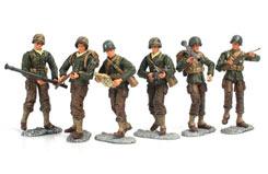 1/18 Us Ww2 Bravo Soldiers AsST12 - un73200b