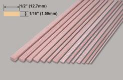 Spruce 1/16x1/2x36inch/1.59x12.7x914mm - w-sp225-10
