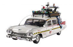 Hotwheels 1/18 Ecto 1A Ghostbusters - x5470