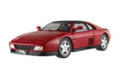 Hotwheels 1/18 Ferrari 348 TS (Red) - x5480
