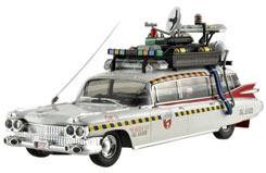 Hotwheels 1/43 Ecto 1A Ghostbusters - x5495