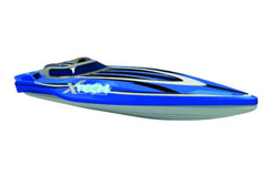 1:28 Racing Boat R/C - Batteries No - xqrb28-2aa