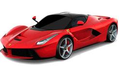 1:18 La Ferrari R/C - Batteries Not - xqrc18-23aa