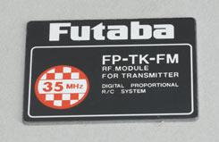 Label - Tx Module Tk-Fm35 - y-s80394