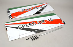 Black Horse Wing Set (Speed Air) - z-bh07-a
