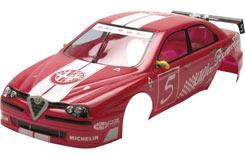 Cen Body Set Rtr(Alfa Romeo 156) - z-cen98103