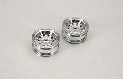 Wheel-Silver 54X34Mm(Pk2) - F.F 4Wd - z-cenff028s