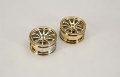 Wheel-10 Spoke/Gold/Pk2 - 4Wd - z-cenff076gd