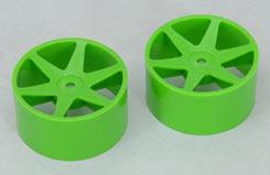 Fr Wheel-6 Spoke/Grn/1:10 (Pk2)Foam - z-ceng84230g