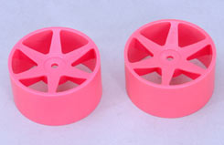 Cen Front Wheels Pink - z-ceng84230p