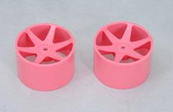 Cen Rear  Wheels Pink - z-ceng84231p