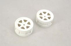Wheel-6 Spoke/White/1:10/Pk2 - Ct5 - z-ceng84246