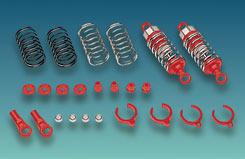 Cen 55Mm Colour Oil Damper - Red - z-ceng84252r