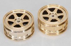 Wheel-6 Spoke/Gold/1:10 (Pk2) - z-ceng84285