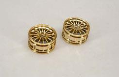Wheel-16 Spoke/Gold/1:10 (Pk2) - z-ceng84287