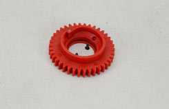 Spur Gear - 38T/Red - Gx1/Tr4 - z-ceng84310-02