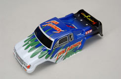 Body Shell (Green) - Mini Madness - z-cenmd025g