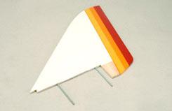 Vertical Stabiliser Set-WOT Trainer - z-cf001-5
