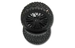 DHK Wolf Rear Wheel & Tyre Set (Pr) - z-dhk8131-010