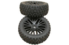 DHK Wolf Buggy Front Wheels & Tyres - z-dhk8131-013
