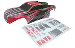 DHK 1/10 RAZ-R BL PVC Printed Body - z-dhk8132-002
