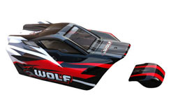DHK Wolf PVC Printed Bodyshell - z-dhk8133-001