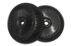 Tyre Complete  (Black Rim) (2Pcs) - z-dhk8383-001