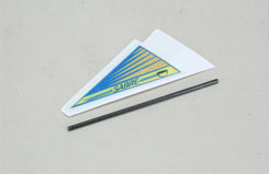 Tail Skid & Fin - Sabre - z-ef165244