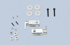 Main Rotor Grip Set (Alu) - V1&2 - z-ef165323