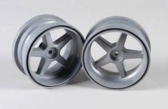 Wheel 1:6 Silver (Pk2) - z-fg03105-1