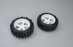 Wheel/Tyre Knobbly M (Glued) (Pk2) - z-fg06225-5