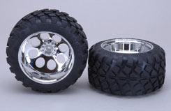 Stadium Truck Tires S/14Mm Glued X2 - z-fg06231-07