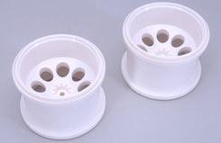 Stadium Truck Wheels White (Pk2) - z-fg06232-6