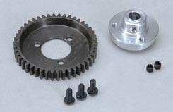 Steel Gearwheel 46T W/Adapter (Set) - z-fg06492