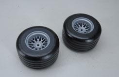 F1 Rear Tyres B Glued (Pk2) - z-fg10586-5