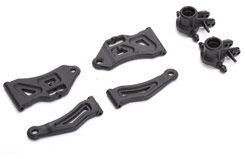 Rmx RoughRcr Up/Lr Arms/Hubs - z-ge303-05-12
