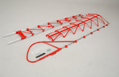 Lm Tail Boom Truss Assembly - Red - z-h0402-347