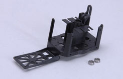 Main Frame W/Bearings - Minicopter - z-mc0818