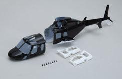 Enforcer Fuselage (W/Leds) & Mounts - z-mc0826