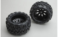 Wheels and Tyres Black(Blaze) - z-rh5153b