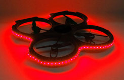 UDI U829 Quadcopter Red LED Set - z-u829-25