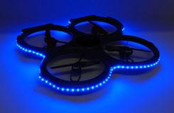 UDI U829 Quadcopter Blue LED Set - z-u829-26