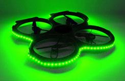 UDI U829 Quadcopter Green LED Set - z-u829-28