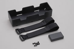 Battery Holder W/Straps - Rail - z-xtm148668