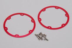 Wheel Ring-Alu Red (Pk2) - Rail - z-xtm148713