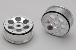 Wheel-6-Shot/Smoke Silver/Pk2 Rail - z-xtm148715