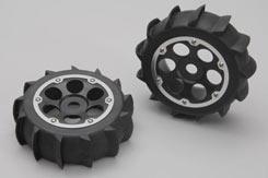 Sand Paddle Tyre W/6-Shot Wheel(Pk2 - z-xtm148722