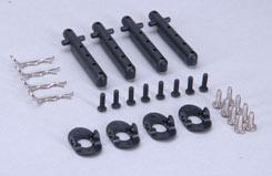 Body Mount Parts  (4 Hole/Pk4) Xst - z-xtm148763